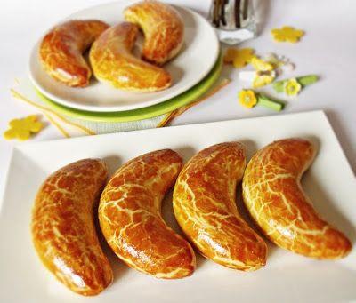 Citromhab: Pozsonyi kifli marcipánnal