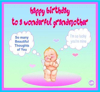 Grandma Birthday Sayings For Cards