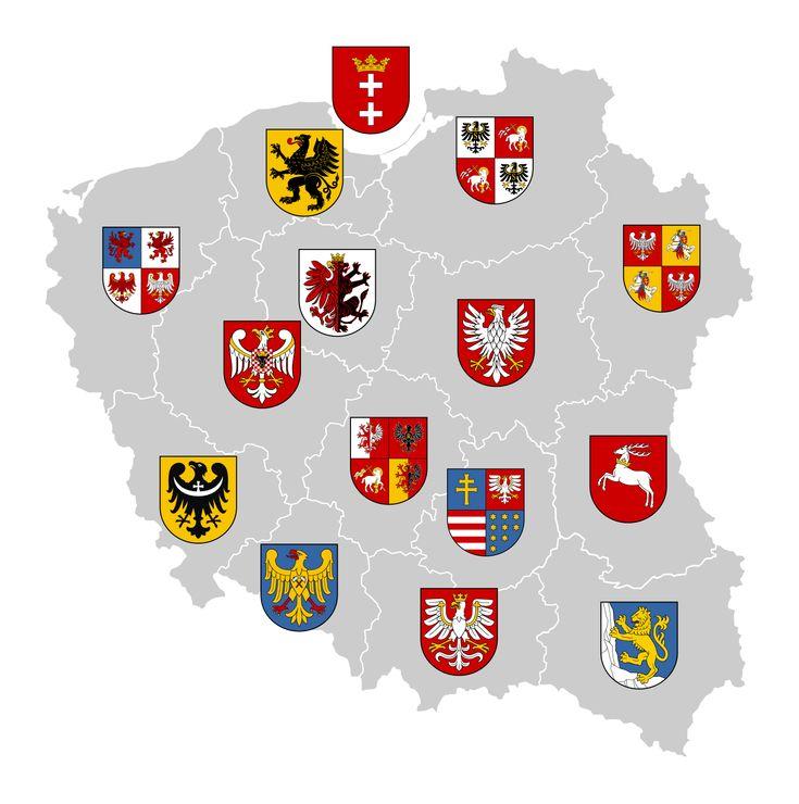 Poland Voivodeships Coat of Arms by FollowByWhiteRabbit on deviantART