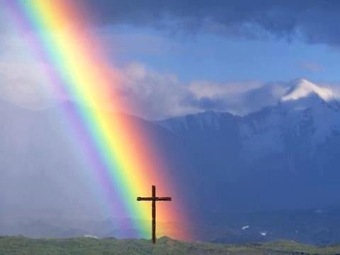 arcobaleno croce