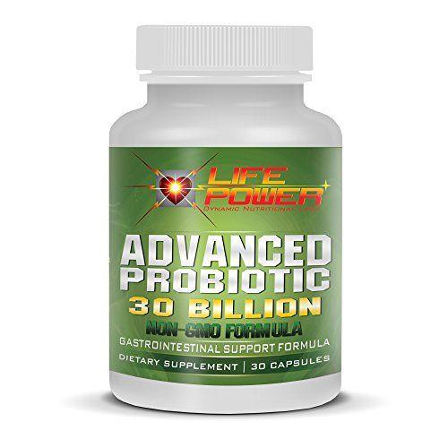 LifePower Labs-Advanced Probiotic Power 30 Billion  Gastro-Intestinal Support Formula. Probiotics For Women, Men