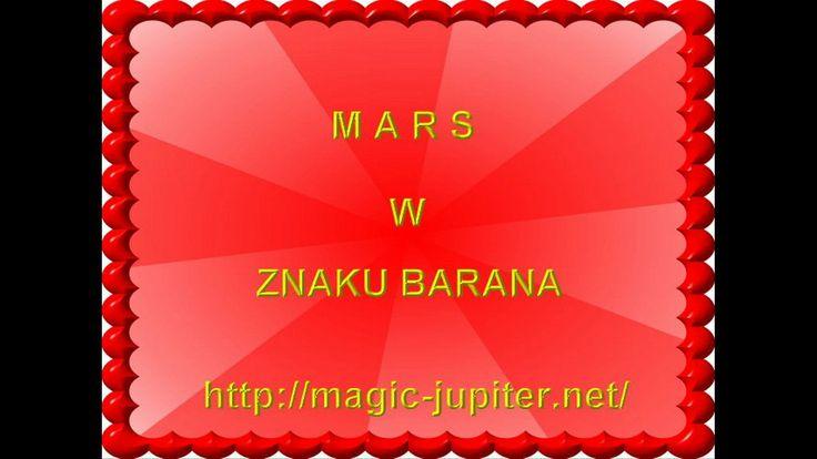 Astrologia Mars w  znaku Barana