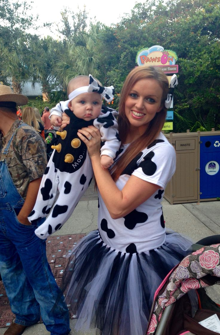 Diy Cow Costume Baby Bottle Nipples Glued Onto Babys -4396