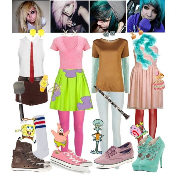 Cartoon Characters To Dress Up As : Cartoon character dress up ideas homemade
