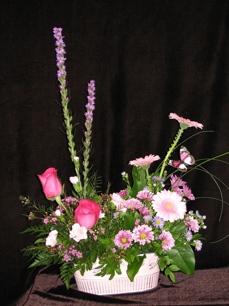 Pink and Purple Garden