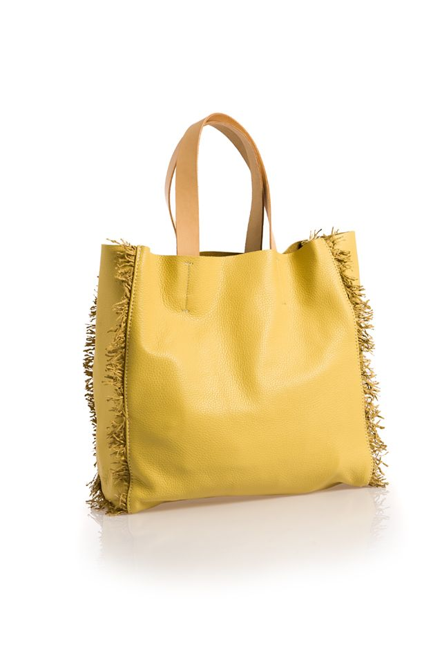 Shopper lemoncurd fringe by HappyM.