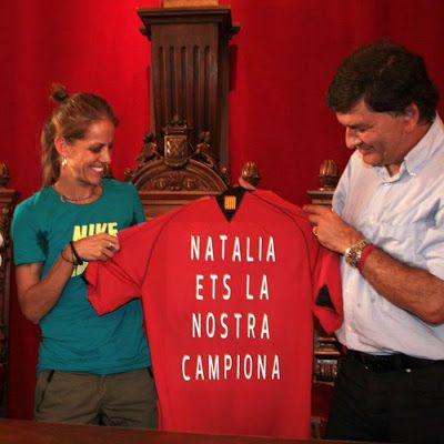 atletismo y algo más: 4728. Natalia Rodríguez recibe un cálido homenaje ...