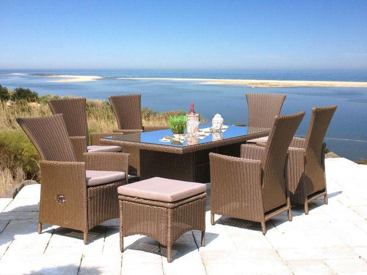 Grasekamp Rattan Sitzgruppe 13tlg Mit 180cm Tisch Essgruppe Sitzgarnitur  Ibiza Jetzt Bestellen Unter: Https://moebel.ladendirekt.de/garten/ Gartenmoebel/ ...