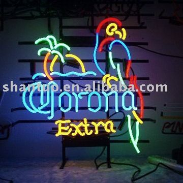 1.Corona extra neon beer sign, best choice for bars, night clubs, and game room 2. UL or CE approved transformer