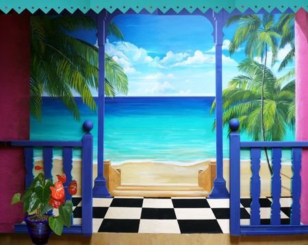 les 41 meilleures images du tableau trompe l 39 oeil et peinture murale sur pinterest peinture. Black Bedroom Furniture Sets. Home Design Ideas