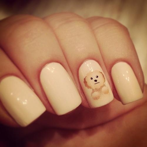 Ontzettend schattige nagels