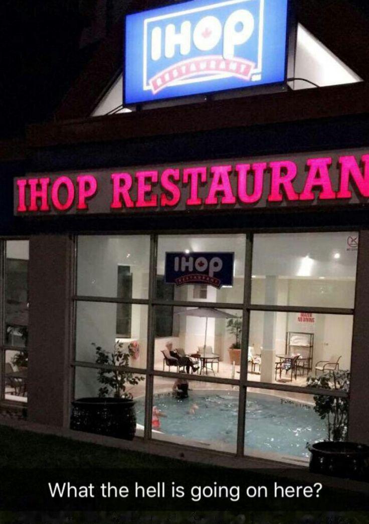 Don't question IHOP
