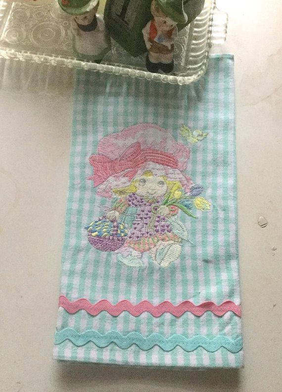 Checked Dish Towel Embroidery Pattern By TheNeedleandPalette This Adorable Tea  Towel Is Now Available For Only