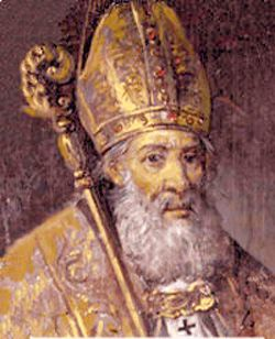 St. Eusebius of Vercelli, Roman Catholic Bishop and defender of The Faith against the Arian heresy. Feastday Aug 2