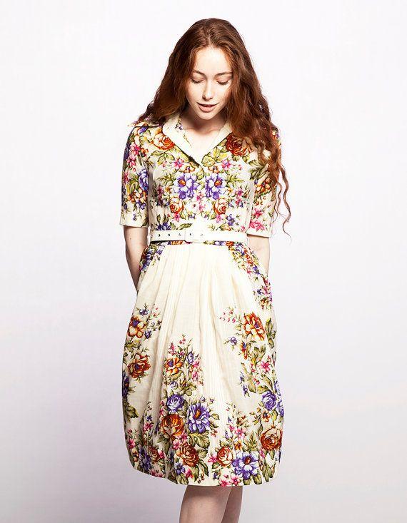 Greatest 62 best Shirt Waist Dress Ideas images on Pinterest | Vintage  GG13