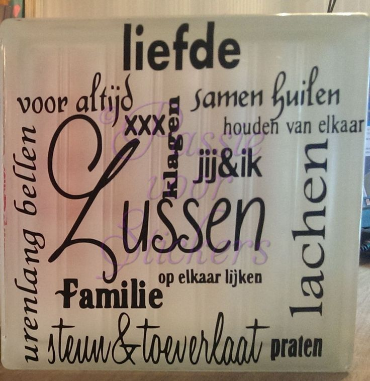 Collage van Zussen of Broer