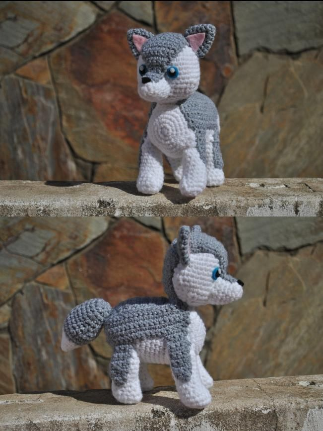Baby Wolf Amigurumi : Little Wolf :) by xAsphyxiatedx.deviantart.com on ...