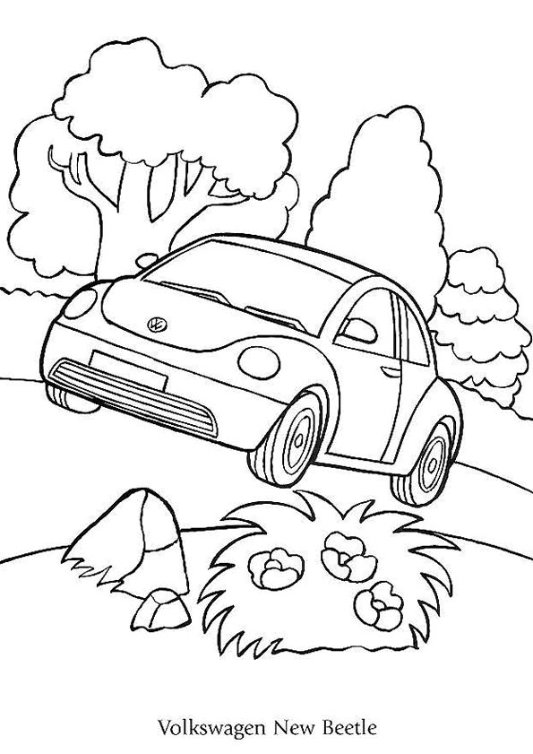 104 best images about coloriages de voitures on pinterest cars jaguar type and citroen xsara - Coloriage voiture mini cooper ...