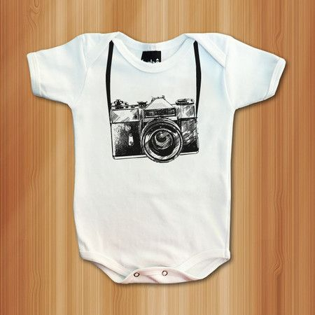Body Fotógrafo (a) - Roupas De Bebês Divertidas e Engraçadas