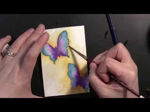NEW! Mixed Media Stencils - YouTube