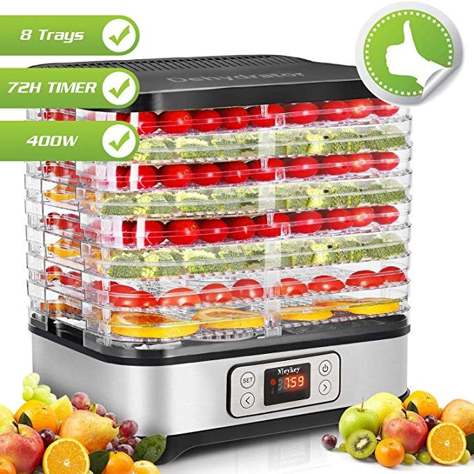 Hauture Food Dehydrator Machine Fruit Dehydrators With 5 Tray