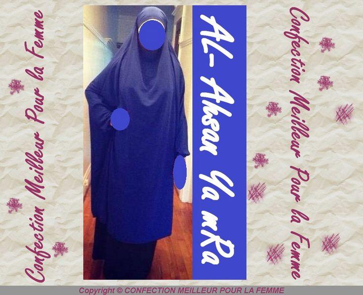jilbab 2 pieces