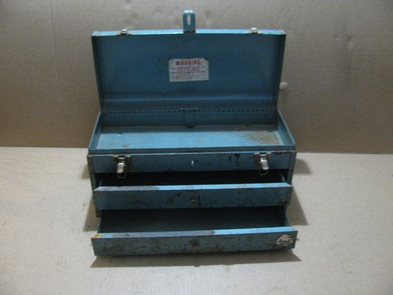 Waterloo heavy duty tool box with 2 sliding by TheCollectorsShop