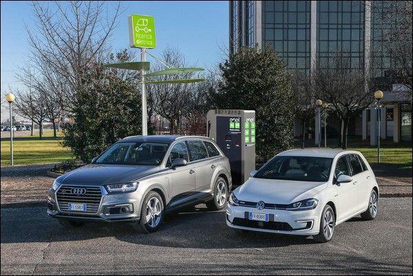 Volkswagen e Audi aderiscono al consorzio EVA  per la Mobilità del Futuro