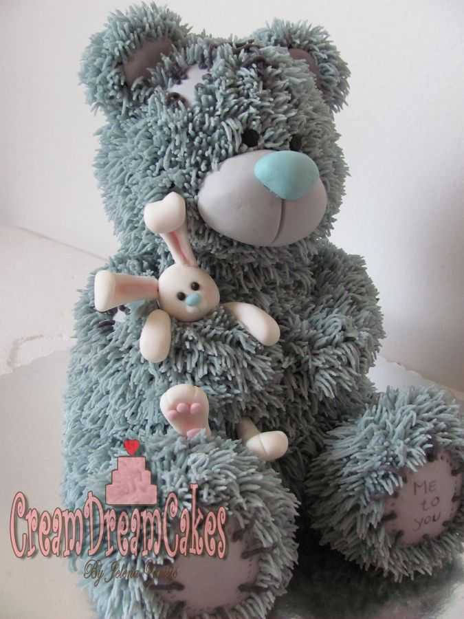 Tatty Teddy 3D cake by Cream Dream Cakes this is so adorable!
