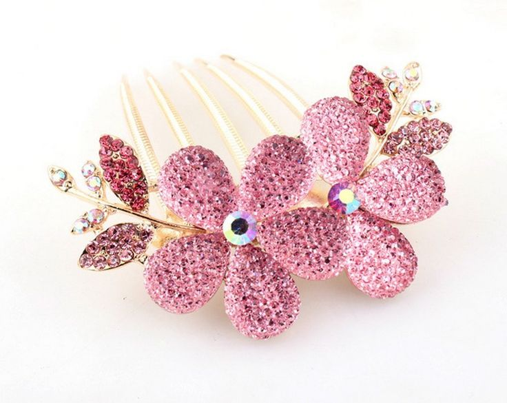 3pcs,Beads plate hair combs, hair accessories, hair plug *** Check this awesome product by going to the link at the image.