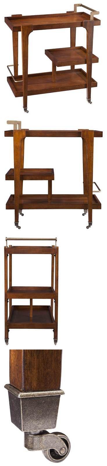 Kitchen Islands Kitchen Carts 115753: Midcentury Modern Bar Cart [Id 3543396] -> BUY IT NOW ONLY: $187.23 on eBay!