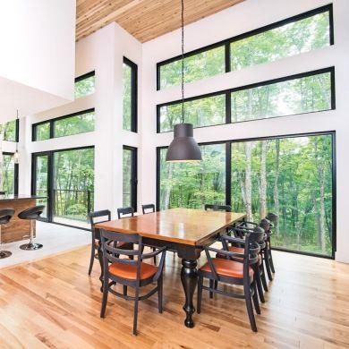 Lumière sur les fenêtres à la cuisine - Salle à manger - Inspirations - Décoration et rénovation - Pratico Pratiques