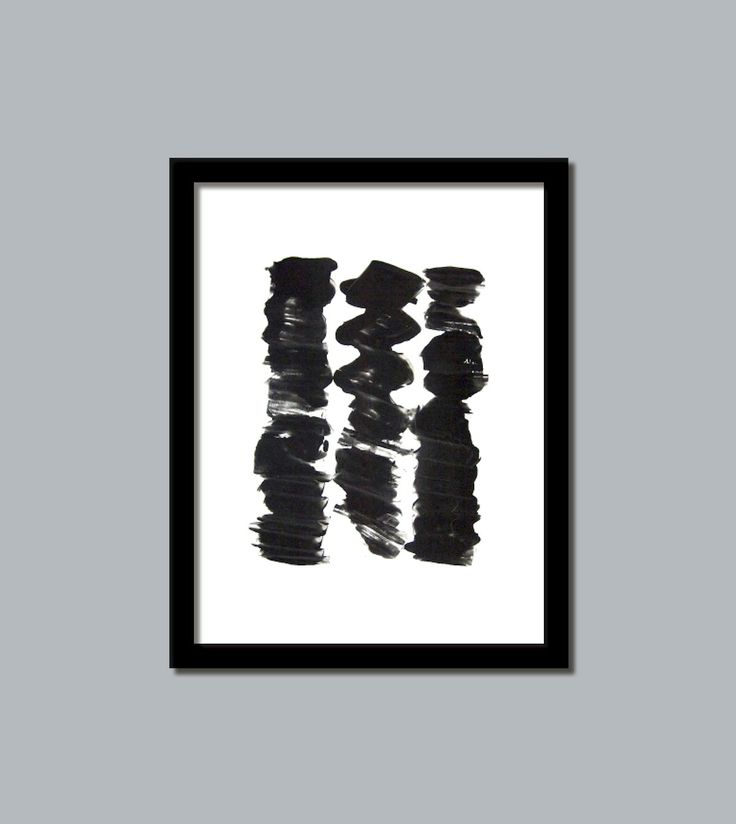 black and white art print from loonhouse on etsy www.etsy.com/shop/loonhousegallery
