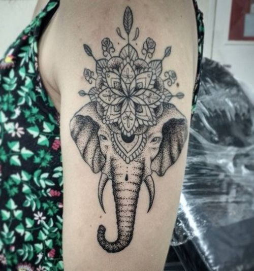 Best 25+ Indian Elephant Tattoos Ideas On Pinterest