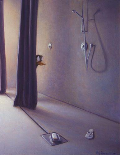 Oilpainting by Kaj Stenvall