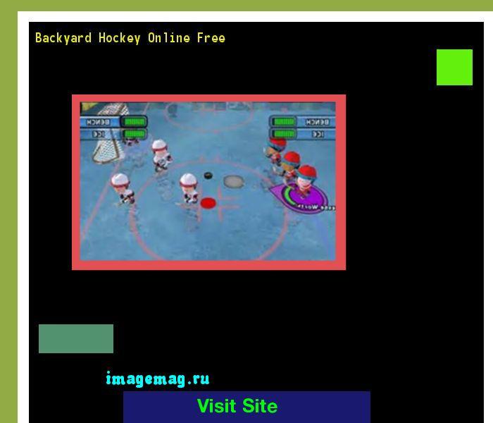 Backyard Hockey Online Free 153848 - The Best Image Search