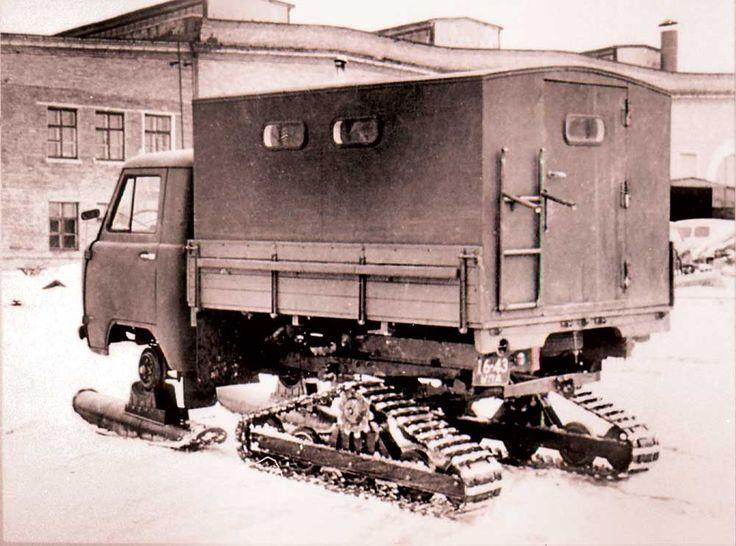 Необычные модели Ульяновского завода