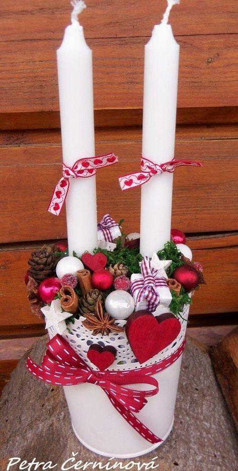 Oltre 25 fantastiche idee su decorazioni di natale su for Composizioni natalizie fai da te