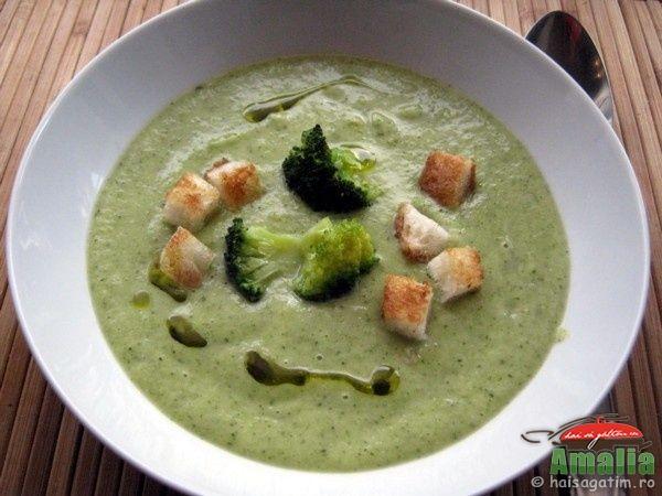 Supa crema de brocoli: Puteti Servi, Delicioasa Care, Crema Delicioasa, Choice, De Broccoli, Ales Mele, Broccoli, Supa Crema, Servi Si