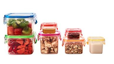 These portion control containers are similar to what they use for the 21 day fix, but WAY less expensive! Great deal!