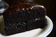 For the Love of Dessert: Chocolate Fudge Cake