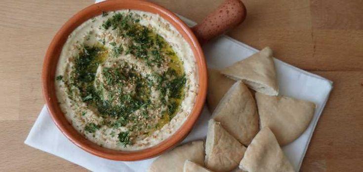 Hummus - eenvoudig basisrecept
