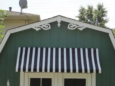 $10 Outdoor Awning Tutorial... This is waaaaaay cool, yall! Worth reading... and doing.
