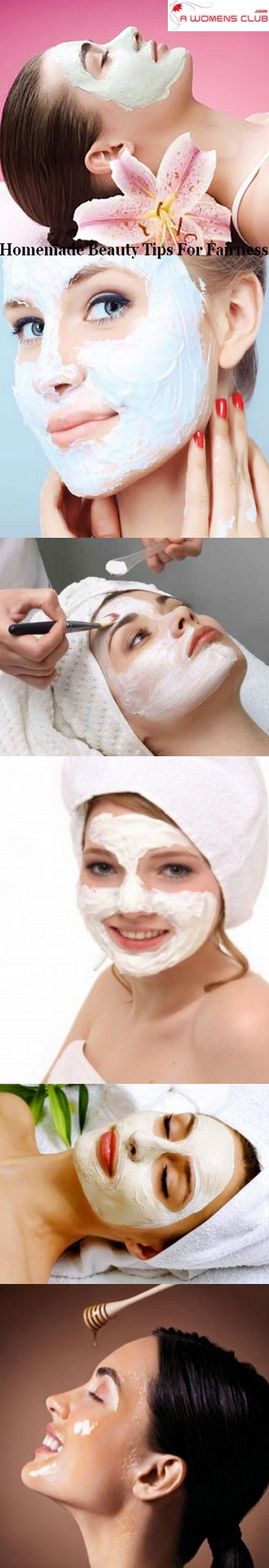 Homemade beauty tips for fairness