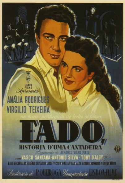 Fado movie poster by Gnoe's Postcrossing, via Flickr