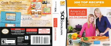 America's Test Kitchen: Let's Get Cooking (DS) - The Cover Project