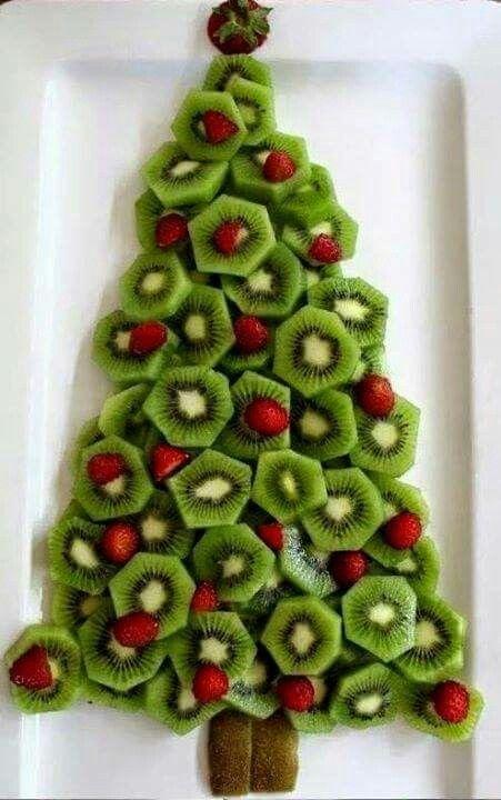 Alberello con kiwi e fragole