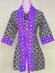 Model Baju Batik Untuk Kerja Terbaru 2014