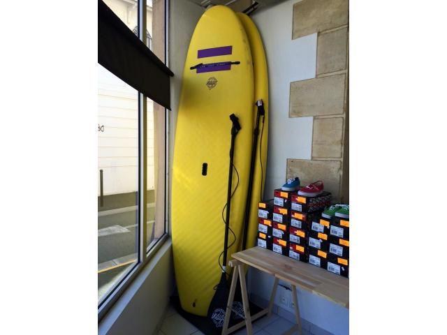 Paddle INDIGO Stand up paddle board  9'6 33 5 202 (296cm/83.8cm/12.8cm  202L)    occasion vendu avec leash neuf et pagaie réglabe  Surf, planche de surf, sweel, vendre, acheter