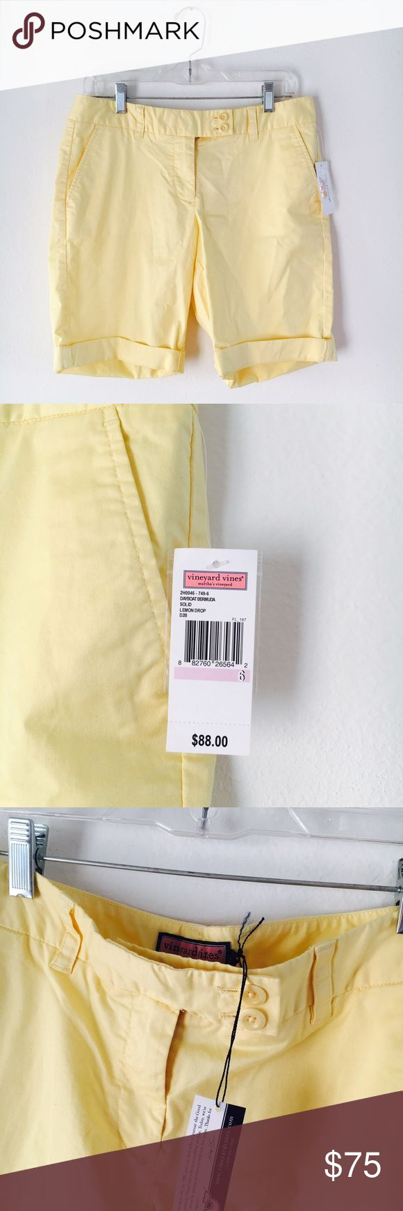 NWT | vineyard vine shorts yellow shorts  * amazing condition  * no flaws   offers through the offer button Vineyard Vines Shorts